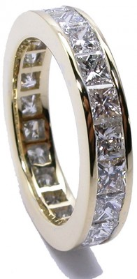 SIKIRDJI Laurent-bague-diamants taille princess