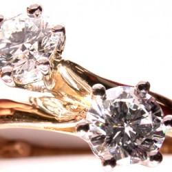"""Diamants """"Toi et Moi""""."""