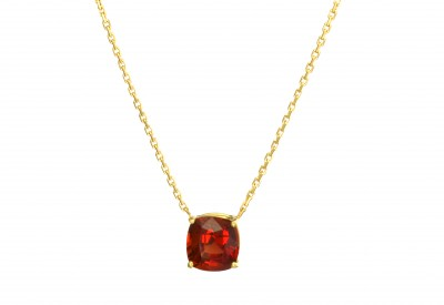 SIKIRDJI Laurent-pendant-Congo andesine-yellow gold