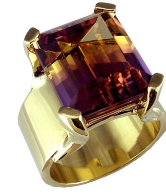 SIKIRDJI Laurent-ring-ametrine from Bolivia