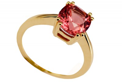 SIKIRDJI Laurent-ring-spinel 2.78ct-yellow gold