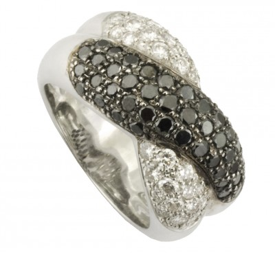 SIKIRDJI Laurent-diamants noirs et blancs-black and white diamonds