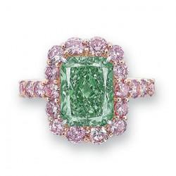 "31 mai 2016: Record pour le diamant vert ""Aurora Green"""