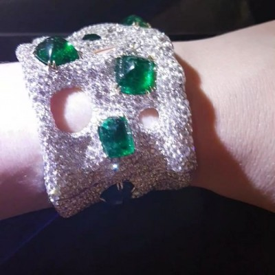 Bracelet Cindy Chao Emeraudes