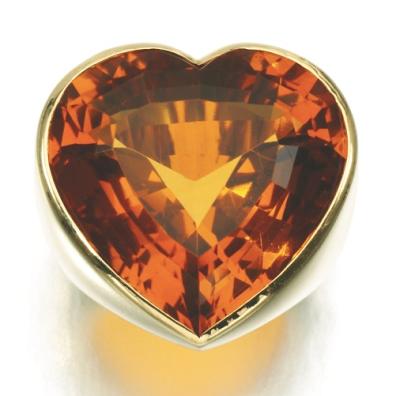 BELPERON-citrine-ring of Duchess of Windsor1955
