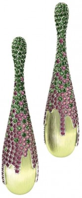 BELPERRON Suzanne-Holy georgous green jewellery