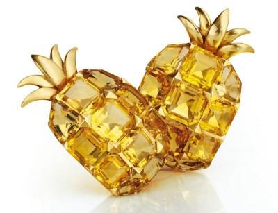 BELPERRON Suzanne-citrines-or-boucles d'oreilles