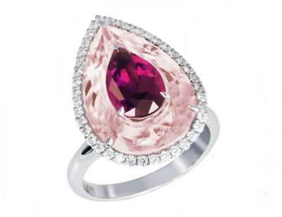 BOGHOSSIAN-quartz rose-rubellite