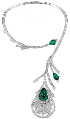 BOUCHERON-émeraudes-diamants