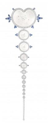 BOUCHERON-diamant-cristal de roche-saphirs