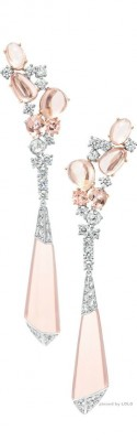 BOUCHERON-diamants-cristal de roche-morganite
