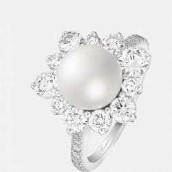 BREGUET-bague-perle Akoya-diamants
