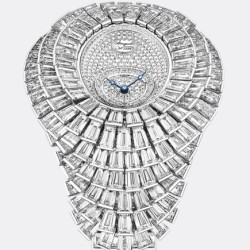 BREGUET-montre-Reine de Naples-Crazy Flower Full Baguette-diamants