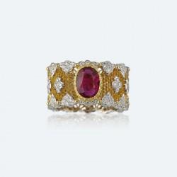 BUCCELLATI-Rubis-diamants