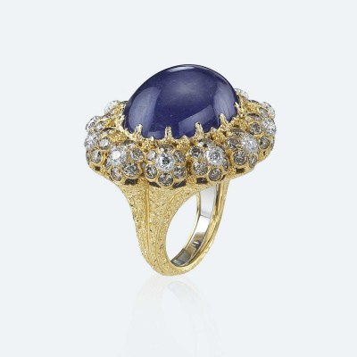 BUCCELLATI-Tanzanite-diamants