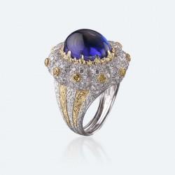 BUCCELLATI-diamants-Tanzanite