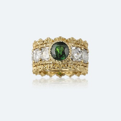 BUCCELLATI-diamants-Tsavorite