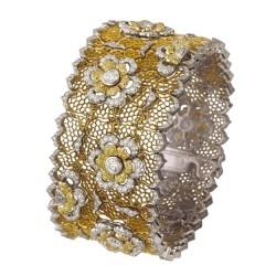 BUCCELLATI-diamants blancs-diamants jaunes