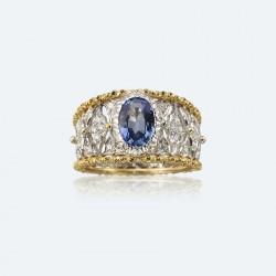 BUCCELLATI-diamants-saphir-