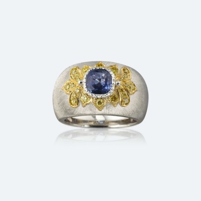 BUCCELLATI-diamants-saphir