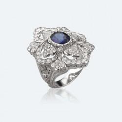 BUCCELLATI-saphir-diamants