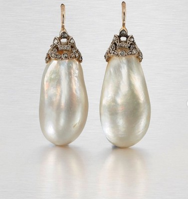 Baroque pearls from Impératrice Eugénie