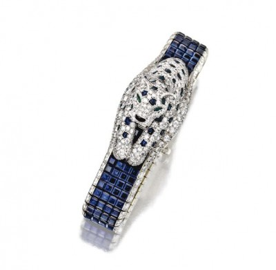 CARTIER-Sapphire-and-Diamond-Panthère