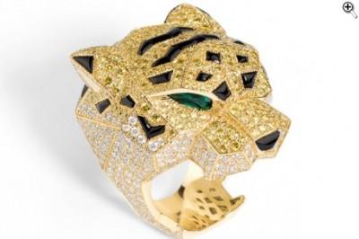 CARTIER-panther ring