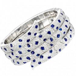 CARTIER- saphirs-diamants-bracelet