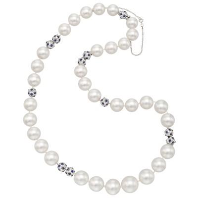 CARTIER-south-sea-pearl-diamond-sapphire-bead-necklace