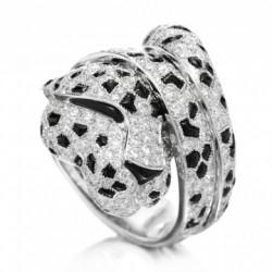 CARTIER_Onyx_diamond panther ring_diamants