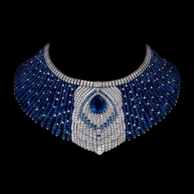 Collection Cartier Royal, Saphir et diamants, Cartier©