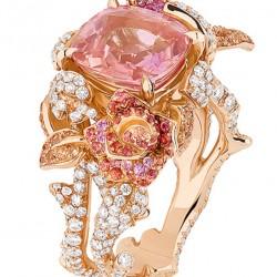 DIOR-diamants-saphir rose-