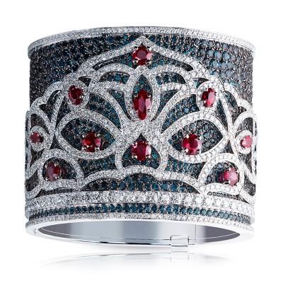FABERGE-bracelet Kokoshni-Alexandrite-rubis- or blanc