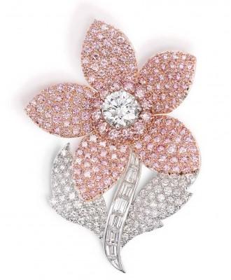 GRAAF-diamants roses-diamants blancs