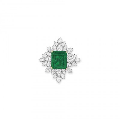 HARRY WINSTON-émeraude-diamants