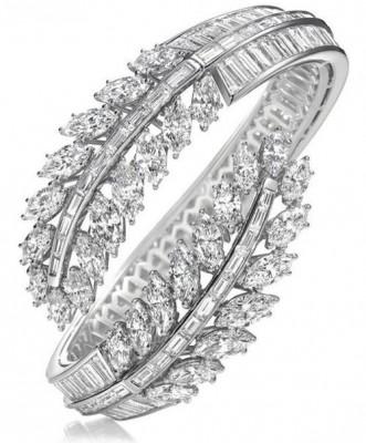 HARRY WINSTON-Bracelet-diamants