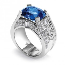 HARRY WINSTON-Tanzanite-diamants