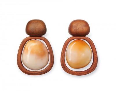 HEMMERLE_boucles d'oreilles-perles-or-cuivre