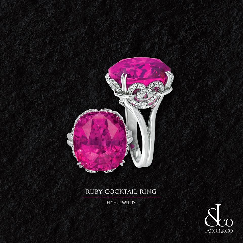jacob co bague cocktail collection haute joaillerie bague rubis platine diamants gemfrance. Black Bedroom Furniture Sets. Home Design Ideas