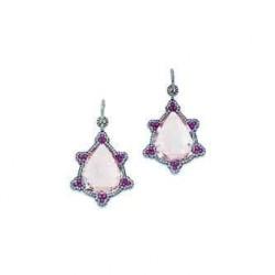 JAR-Boucles d'oreilles-or-morganite-saphirs-diamants