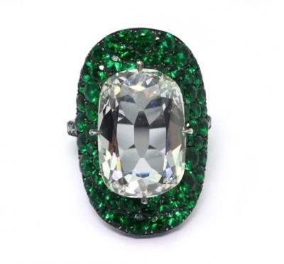 JAR-bague-diamant-émeraudes