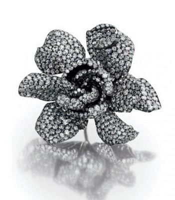 JAR-bague gardenia-Ellena  Barkin's-diamant