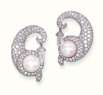 JAR-boucles d'oreilles-diamants