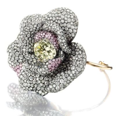 JAR-bracelet Camelia Lily Safra-diamants