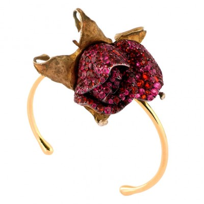 JAR-opale de feu-rubis-bracelet
