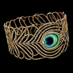 MELLERIO DITS MELLER-Collier Art Nouveau-circa 1900-or-diamants-émail
