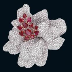 PICCHIOTTI-broche-rubis-diamants