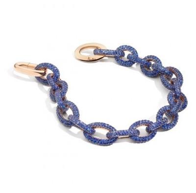 POMELLATO-Pom Pom bracelet-or rose-tanzanite