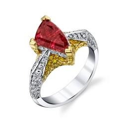 RICARDO BASTA diamants jaunes-diamants-rubellite